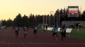 Men's 100m Sprint – 2014 Victoria Track Classic