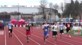 2016 UBC Open: Men's 100m sprint video