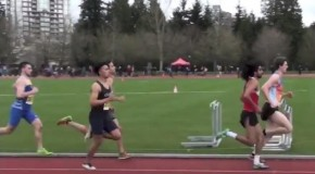 2016 UBC Open: Men's 1500m – heat #2 – race video
