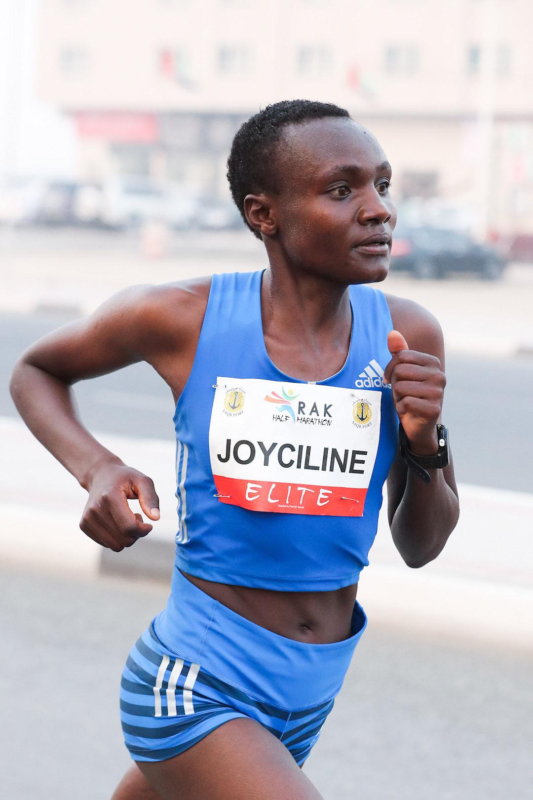 World record holder Joyciline Jepkosgei runs marathon debut in Hamburg