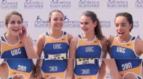 UBC Women's – 4 x 100m relay team