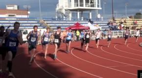 Men's 800m race – The Q's Victoria Run Series – May 24, 2014