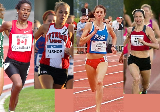 Canadian Women's 800m Olympic Bid – Down to One Race in Calgary