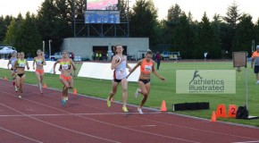 Women's 800-metre race in Portland: Potentially the most exciting race of the year.