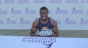 2015 Harry Jerome Track Classic: Stephen Abosi Interview