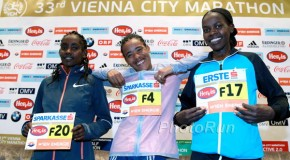Five women target sub 2:25 in Vienna City Marathon