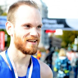 Bryan Andrews, Calgary, Alberta second: 2:29:00 - a new personal best