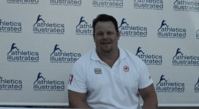 2015 Harry Jerome Track Classic: Dylan Armstrong Interview