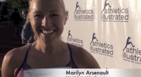 Marilyn Arsenault Interview BC 10,000m Championships