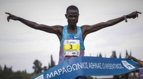 Samuel Kalalei gives himself early Birthday present while Bedatu Badane takes top women's honours in Athens Marathon