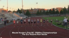 Maude Hunter's Pub BC 10000m Championships – The Q's Victoria Run Series