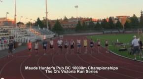 Maude Hunter's Pub BC 10000m Championships – The Q's Victoria Run Series