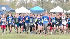 Race video: Jr. Boy's race – 2017 BC High School Cross Country Championships