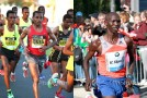 Wilson Kipsang and Kenenisa Bekele duel on Berlin's world record course