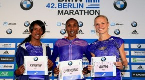 Gladys Cherono and Aberu Kebede target 2:20 barrier while Anna Hahner sets sights on personal best and Olympic qualifying time