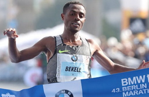 Kenenisa Bekele wins BMW Berlin Marathon, sets Ethiopian Record