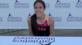 2015 Harry Jerome Track Classic: Maria Berdard Interview