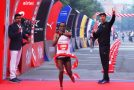 Legese and Ayana triumph at the Airtel Delhi Half Marathon 2017