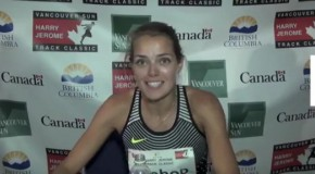 Melissa Bishop interview – 2016 Harry Jerome Track Classic