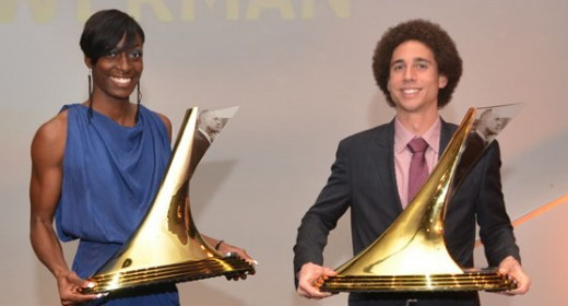 Cameron Levins and Kimberlyn Duncan – The Bowerman Winners