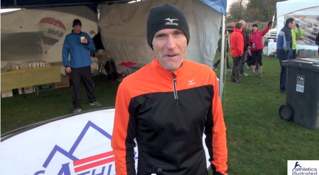 Steve Boyd Interview – 2012 Canadian Cross Country Championships