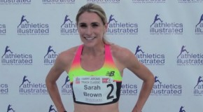 2015 Harry Jerome Track Classic: Sarah Brown Interview