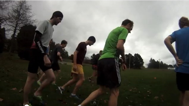 Final Cross Country Workout Before Nationals – Victoria, BC