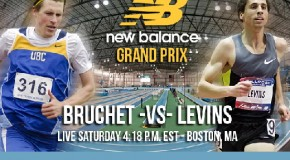 Canadians Bruchet and Levins in 3000 Metre Showdown