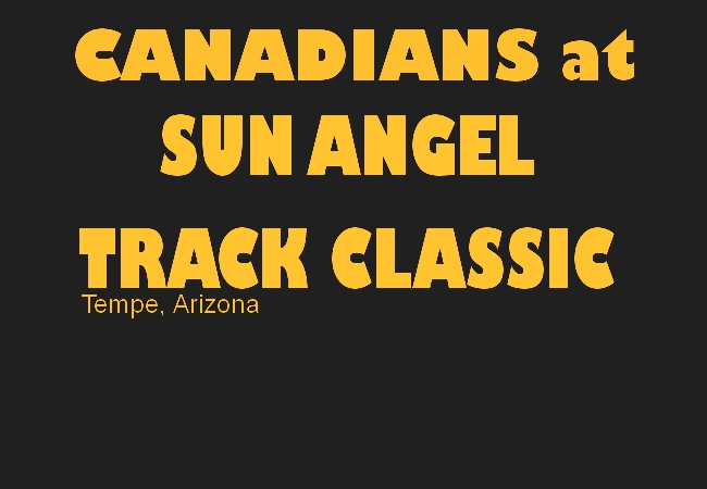 Canadians at the Sun Angel Classic