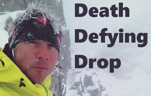 Adam Campbell's Horrific Death-Defying drop off the side of Roger's Pass