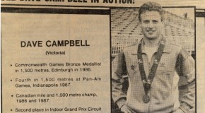 Dave Campbell Interview – Victoria Track Classic