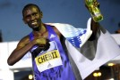 Peres Jepchirchir runs world 10k lead to win women's title, Daniel Chebii confirms Kenyan domination with victory in men's race