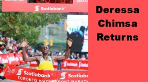 Deressa Chimsa Returning to Scotiabank Toronto Waterfront Marathon
