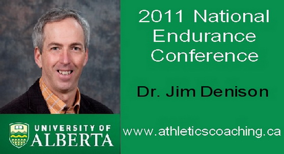 Dr. Jim Denison – 2011 Canadian National Endurance Conference