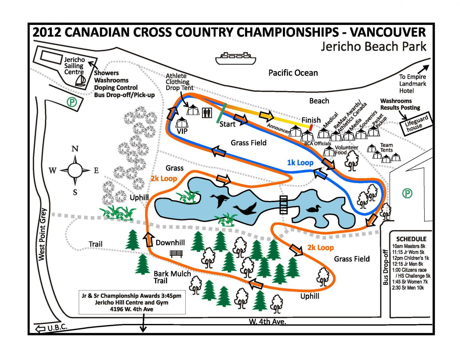 Canadian Cross Country Championships – Entry Deadline, Friday November 16 @ 1:00PM PST