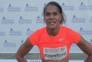 2015 Harry Jerome Track Classic: Virginia Crawford Interview