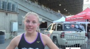 Devan Wiebe Interview – 2014 Harry Jerome Track Classic