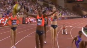 Genzebe Dibaba's 1500m World Record
