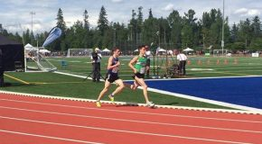 Dozzi and Dannatt's record-breaking race at BC High School Track and Field Championships
