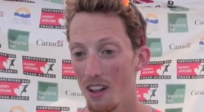 Evan Dunfee interview – 2016 Harry Jerome Track Classic