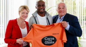 Cocoa from Ghana: the new sponsor for long jumper Ignisious Gaisah