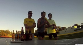 Beer two-mile world record smashed, but will is stand?