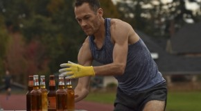 Jim Finlayson's beer mile world record attempt – October 18, 2015