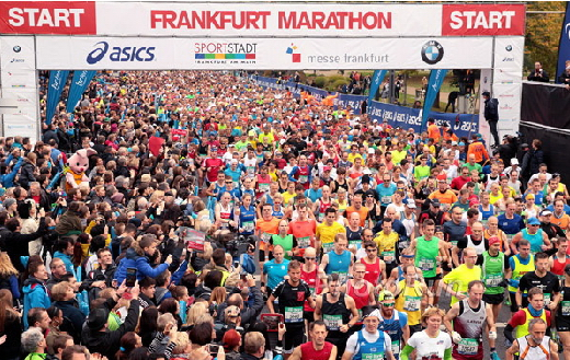 2015 Frankfurt Marathon Frankfurt, Germany    October 25, 2015 Photo: Victah Sailer@PhotoRun Victah1111@aol.com 631-291-3409 www.photorun.NET