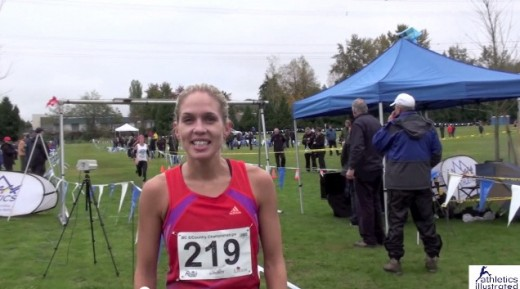 Natasha Fraser – Interview – BC Cross Country Championships
