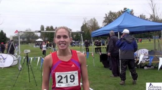 Natasha Fraser – Interview – BC Cross Country Championships