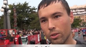 Kevin Friesen Interview – 2014 GoodLife Fitness Victoria 8K