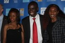 Eliud Kipchoge and Mare Dibaba receive Marathon Runner of the Year awards in Athens