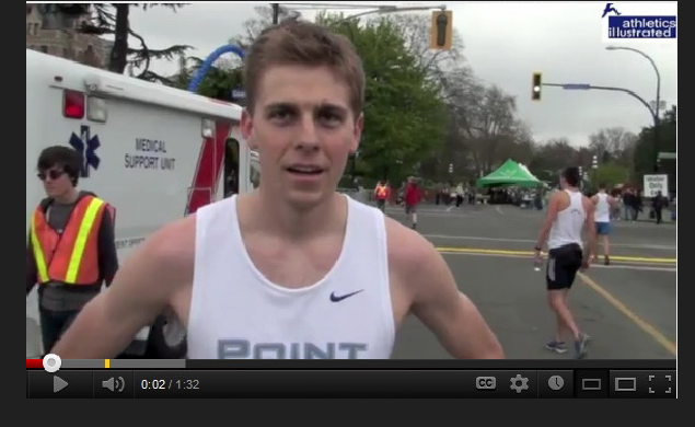 Dylan Gant – 2012 TC10k – Post Race Interview – Video