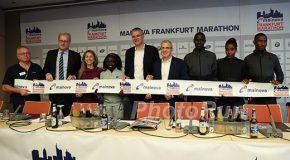 Mainova Frankfurt Marathon on Sunday: Frankfurt plans to turn up the heat